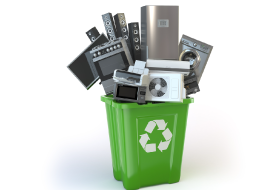 Where can I recycle electrical items?