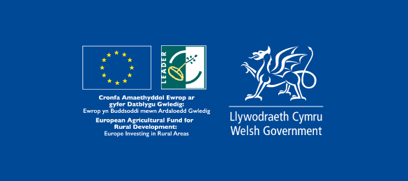 This project has received funding through the Welsh Government Rural Communities - Rural Development Programme 2014/20 which is funded by the European Agricultural Fund for Rural Development & the Welsh Government