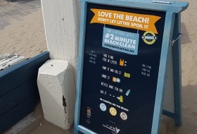 You can help beat beach litter!
