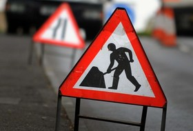 Notification of road works